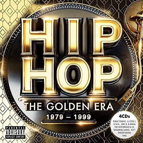 CD : VARIOUS ARTISTS - Hip Hop The Golden Era / Various (United Kingdom - Import, 4PC)