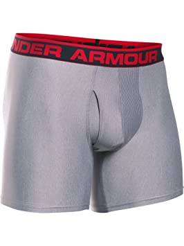 Under Armour The Original 6 Boxerjock Ropa Interior, Hombre, Gris (025