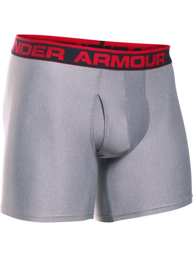 Under Armour The Original 6 Boxerjock Ropa Interior, Hombre, Gris (025