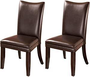 Ashley Furniture Signature Design - Charrell Dining Upolstered Side Chair - Set of 2 - Medium