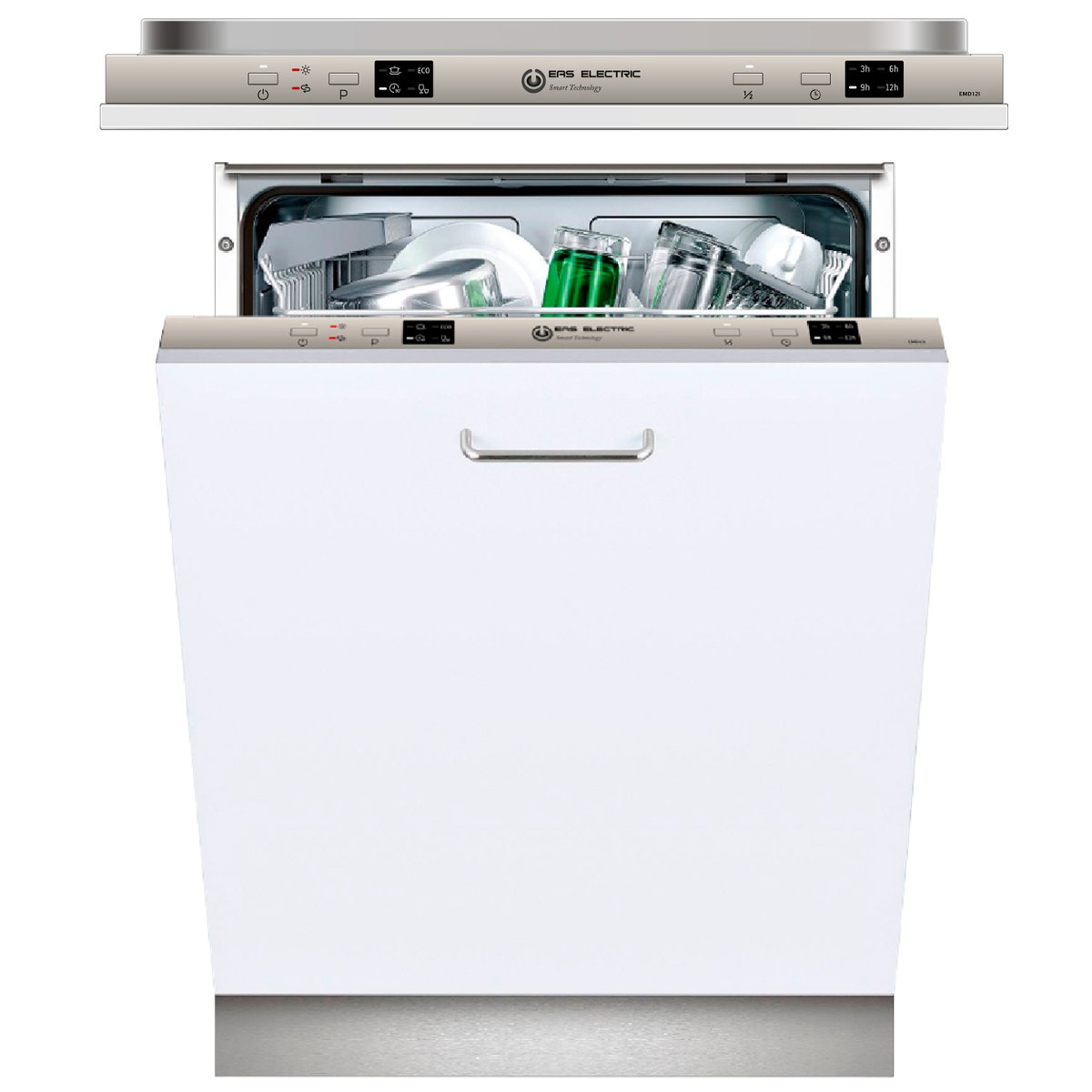 Lavavajillas Blanco Eas Electric EMD12I 60cm A+ 4 programas ...