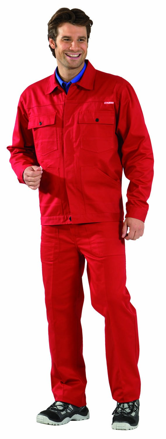 Planam MG290?Jacket Red Red red Size:29 (EU)
