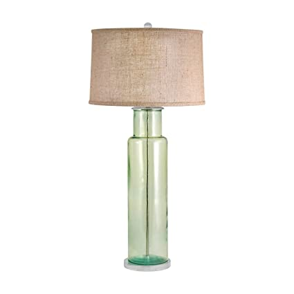 Amazon Com Lamp Works Recycled Glass Table Lamp In Green Office