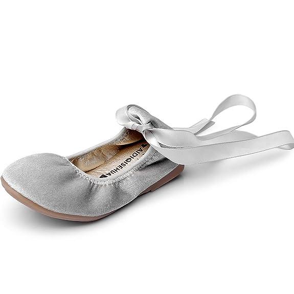 Girls Velvet Ballet Flat