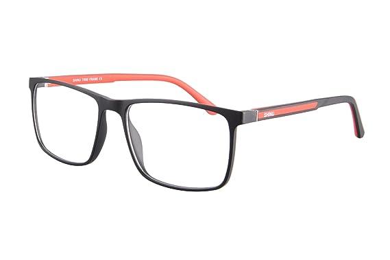 9cc97b73d77 Image Unavailable. Image not available for. Color  SHINU Anti Blue Light  Transition Lens Glasses Photochromic Sunglasses with Prescription ...