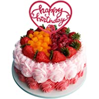 Pretend Cake Window Decoration Simulation Cake Creative Birthday Cake Model [A]