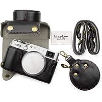 MUZIRI KINOKOO PU skórzane etui do FUJI X100V z paskiem na ramię i torbą do przechowywania, Fujifilm X100V etui ochronne…