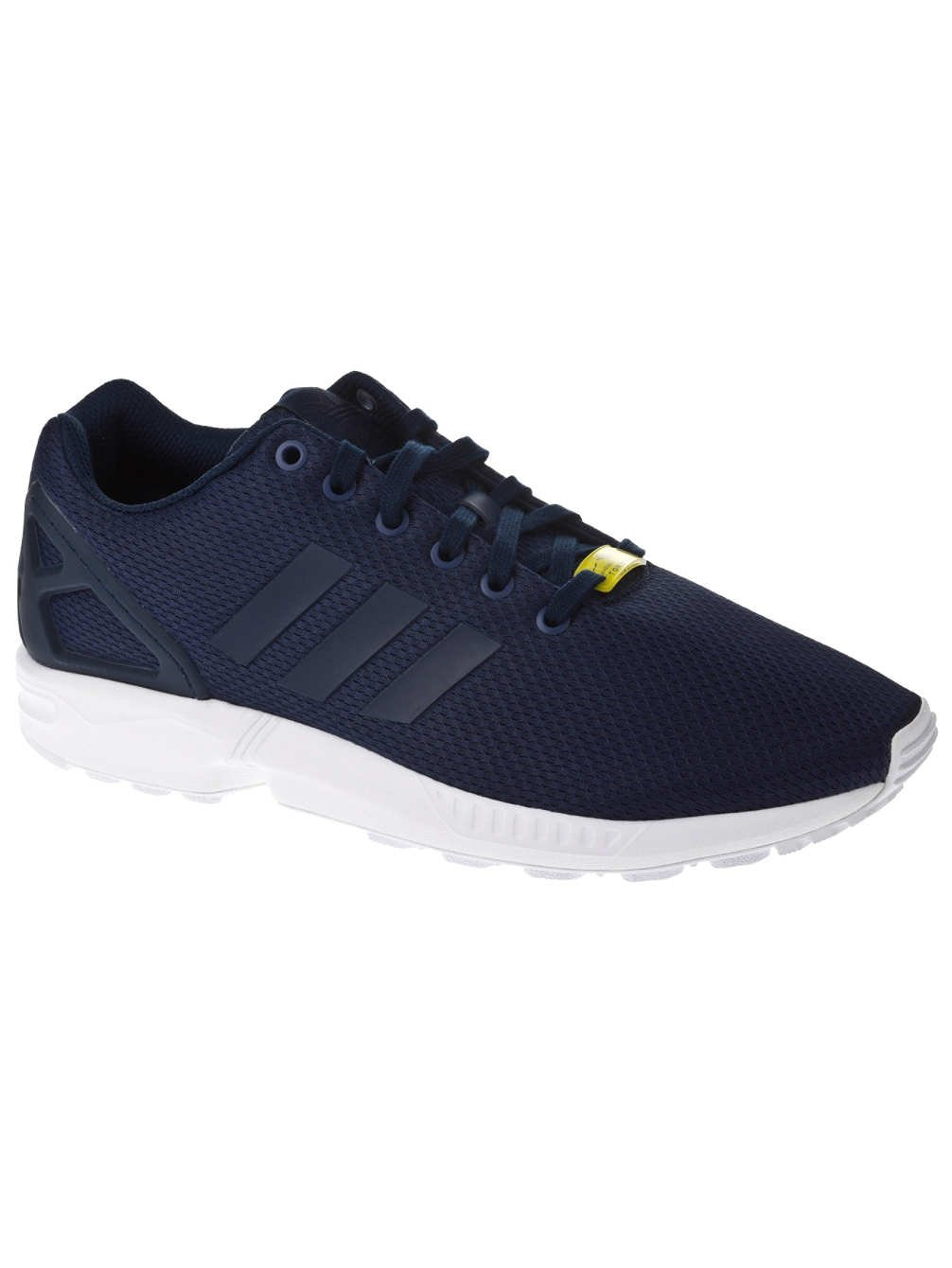 c423bacdf61d Galleon - Adidas ZX Flux Navy White Mens Trainers Size 9 UK