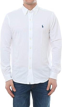 Polo Ralph Lauren Featherweight Mesh Camisa Casual para Hombre: Amazon.es: Ropa y accesorios