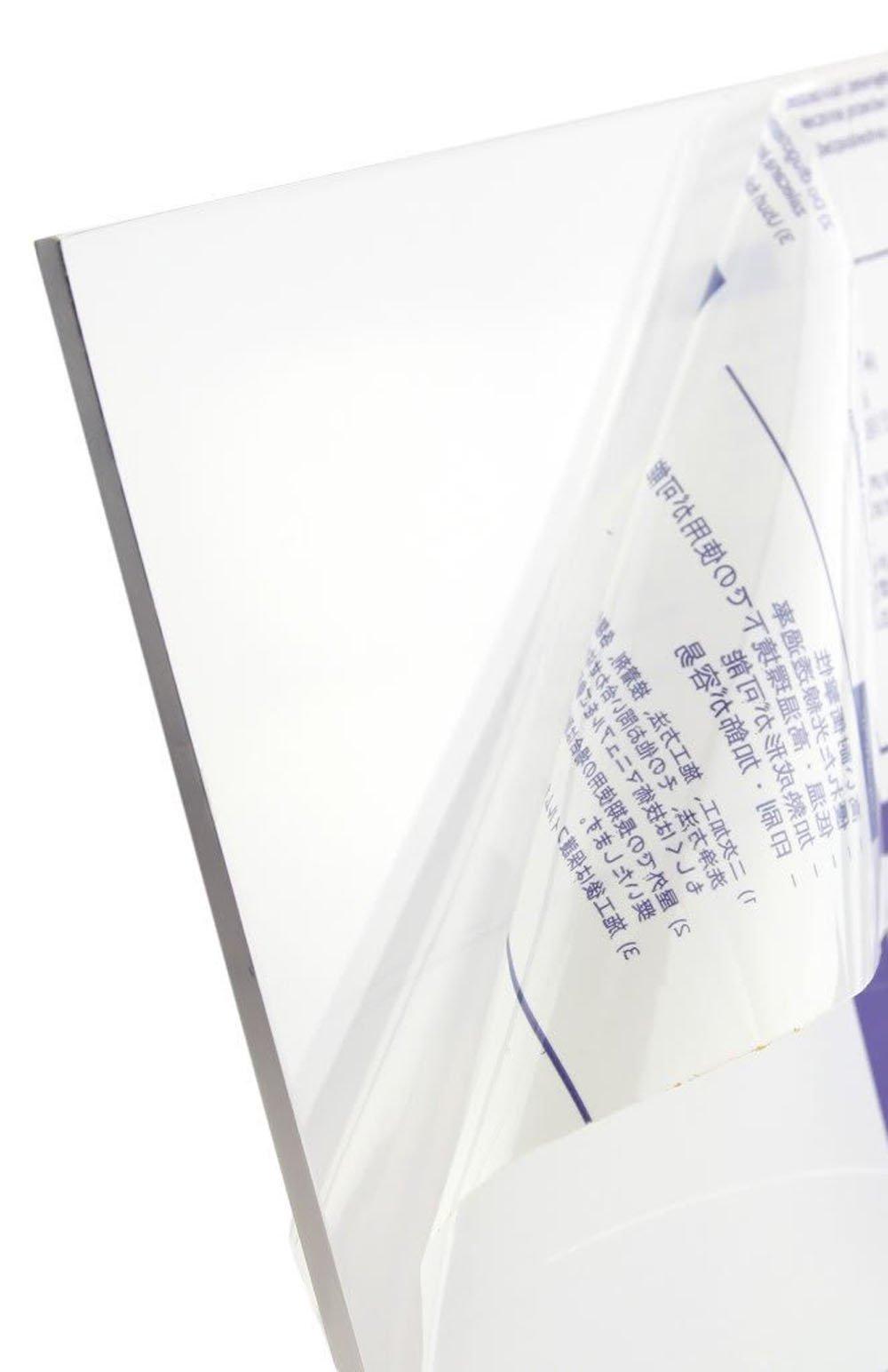 Faztek 13PA8309 Polycarbonate Panel, 48'' Length x 1/4'' Width x 96'' Height, Clear