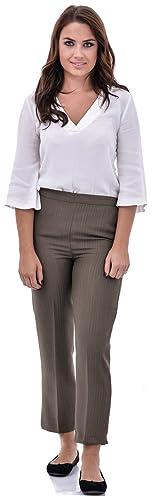 Nightingale Collection - Pantalón - para mujer verde Kahki 44