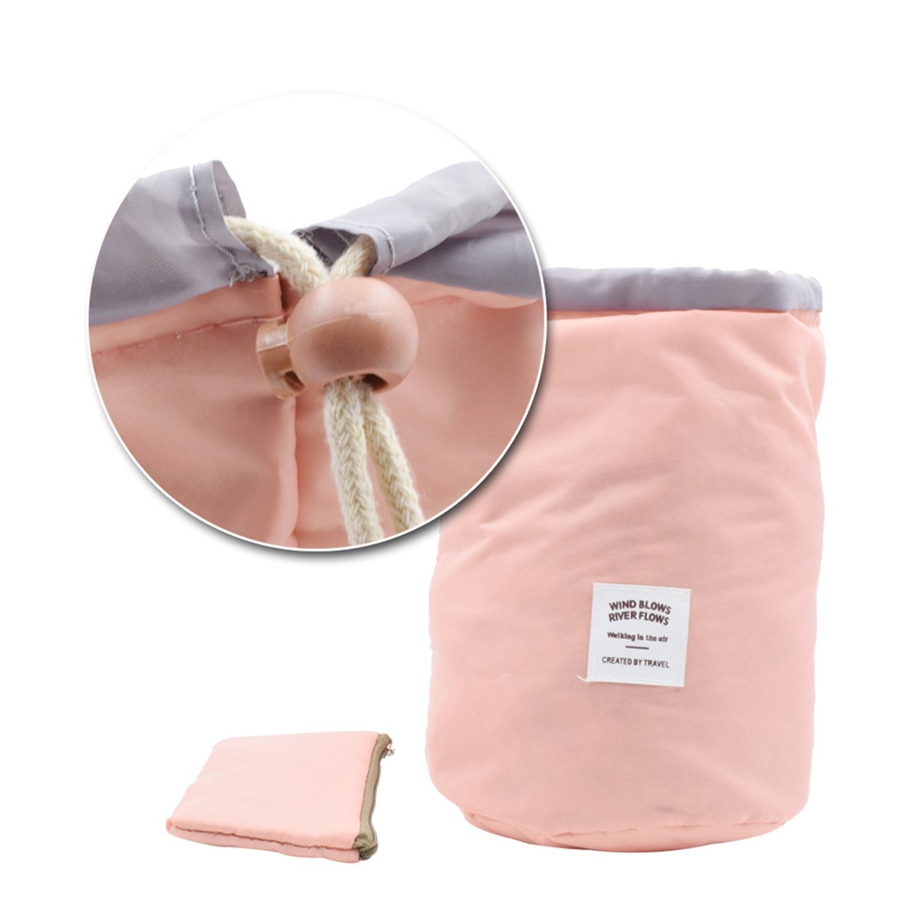 Amazon.com: Bolsa de viaje, bolsa de maquillaje, bolsa de ...