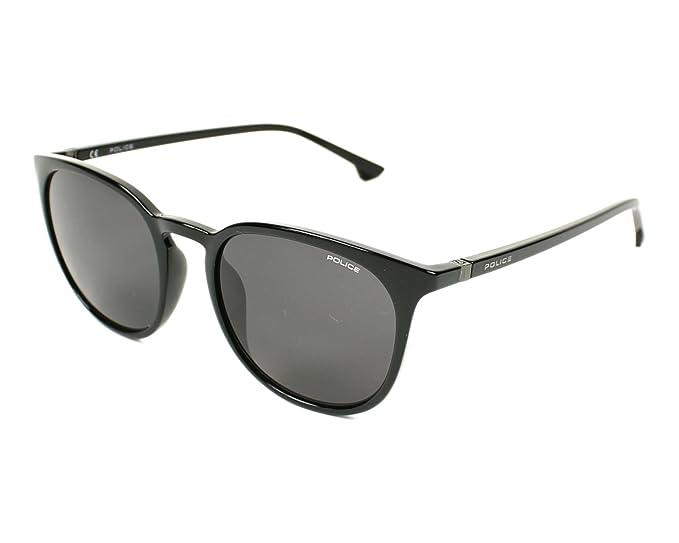 f071f3b2769 Police Jungle 2 Sunglasses in Shiny Black SPL343 0Z42 52 Shiny Black Grey 52