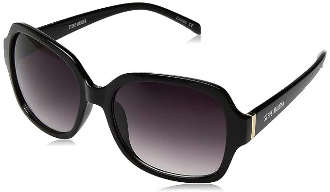 63cb9f8b4e Amazon.com  Steve Madden Women s Sm875228 Square Sunglasses