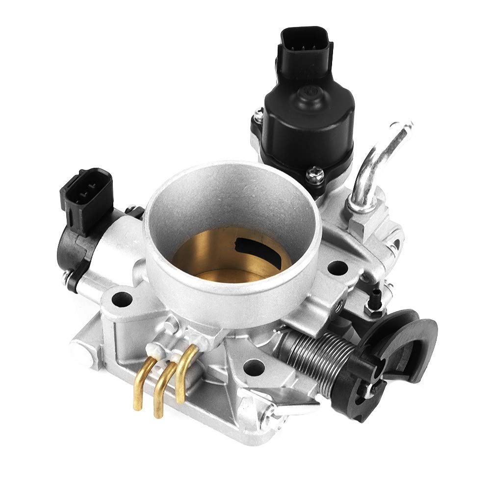 Suuonee Throttle Body MR560120 MR560126 MN128888 Throttle Body Valve Fit for Mitsubishi Lancer 4G18 Engine