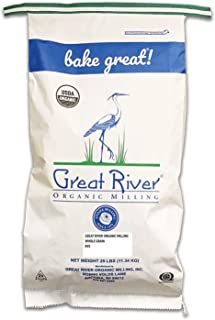 product image for Great River Organic Milling, Whole Grain, Rye Grain, Organic, 25-Pounds (Pack of 1)