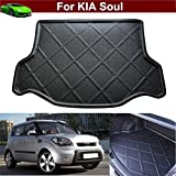 Car Boot Pad liner Cargo Mat Tray Trunk Floor Protector Mat For Kia Soul 2009 2010 2011 2012 2013 2014 2015 2016 2017