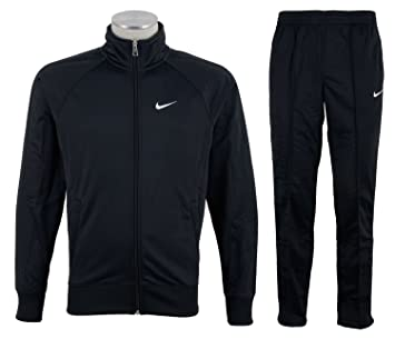 Nike pantalones de poliéster chaqueta de chándal completa pista ...