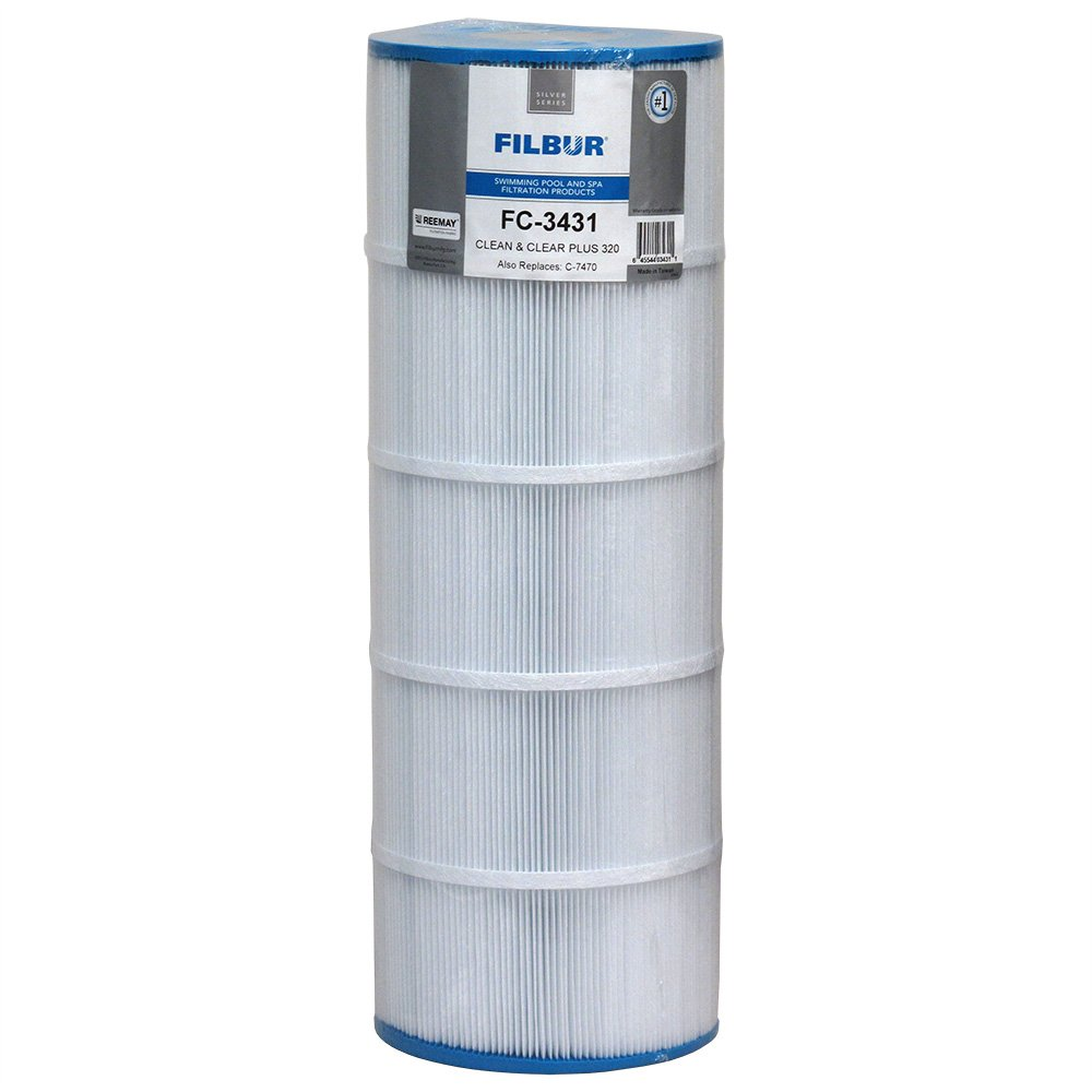 Filbur FC-3431 Pool Water Filter for Pentair Clean & Clear Plus 320
