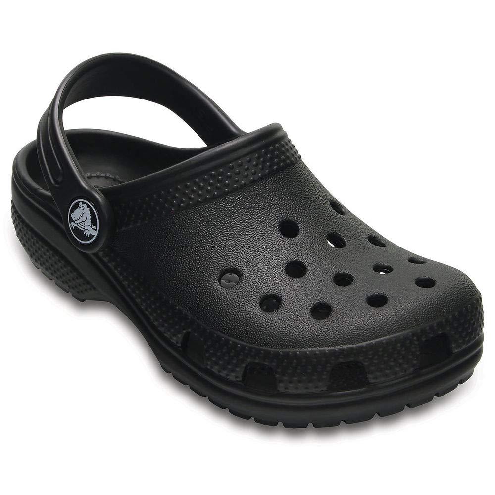 Crocs Kids Classic Clogs, Black 8 by Crocs (Image #1)