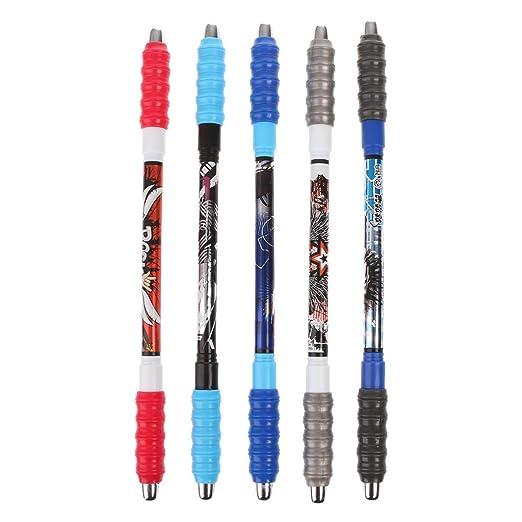 CADANIA Non Slip Spinning Pen Bolígrafo Balanceo Dedo Giratorio ...