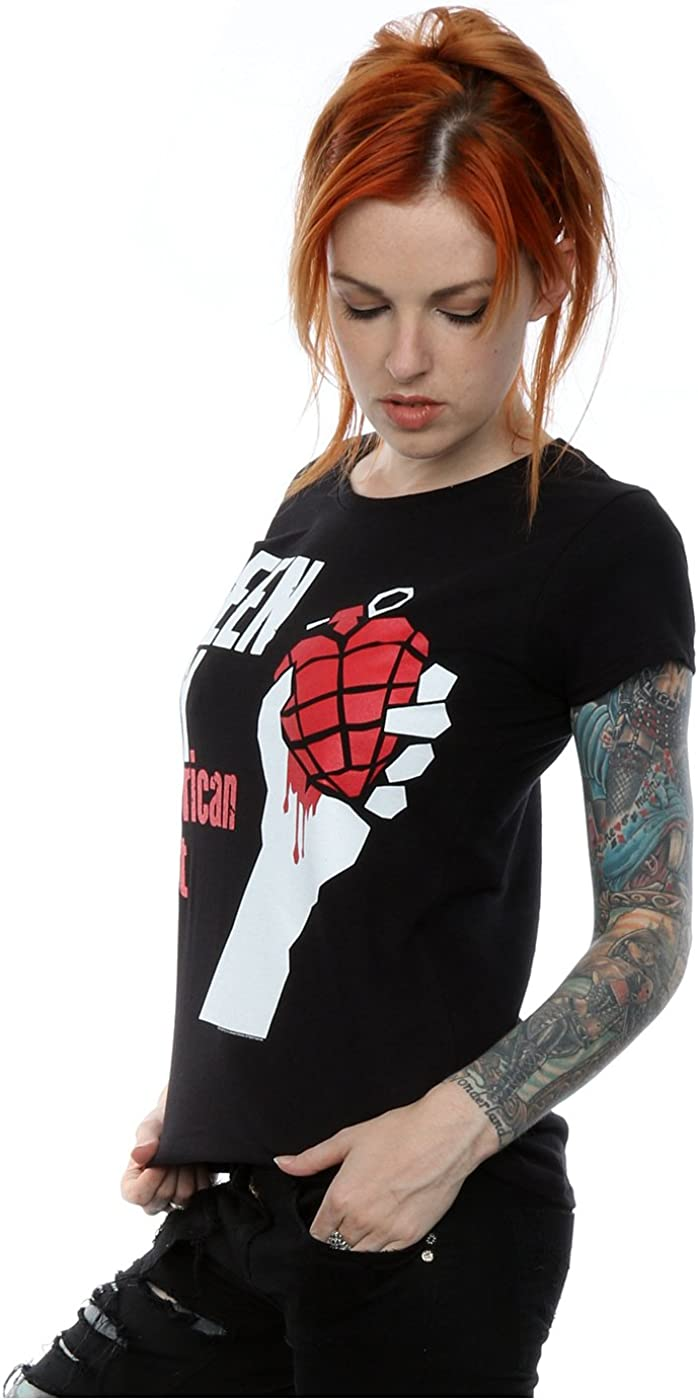 Green Day Damen American Idiot T-Shirt XX-Large Schwarz