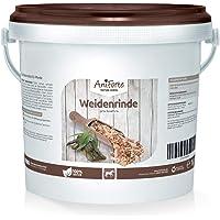 AniForte Weidenrinde geschnitten 1kg - Naturprodukt für Pferde aus Silberweide Rinde, Unterstützung Gelenke, Bewegung und Verbesserung der Agilität, Wichtige Pflanzenstoffe, Salicin und Salicortin