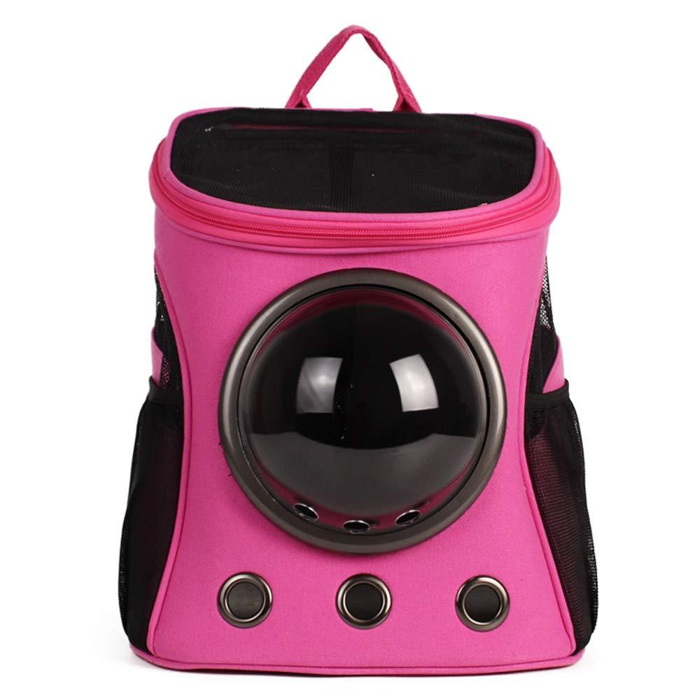 D 32X25X38cmPet Backpack Space Bag Outgoing Carrying Case Shoulder Bags Handbag Dog Bags Cat Cage (color   B, Size   32X25X38cm)