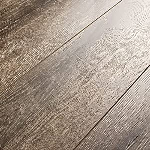 armstrong rustics oak etched gray 12mm laminate flooring sample - Armstrong Laminate Flooring