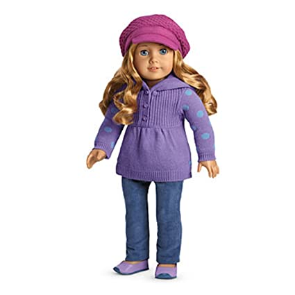 64952b7aa26 Image Unavailable. Image not available for. Color: American Girl My AG  Casual Chic Outfit + Charm