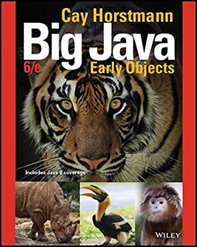 big java early objects 6th edition 6 cay s horstmann ebook rh amazon com Cay Horstmann Big Java Horstmann Wiley