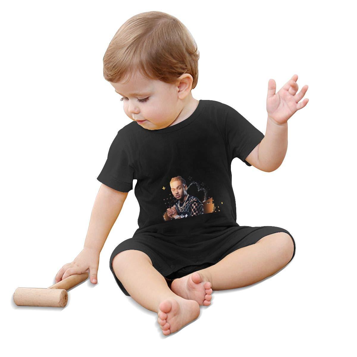 WangSiwe Ozuna Infant Boy Girl Short Sleeve Jumpsuit Summer Outfits