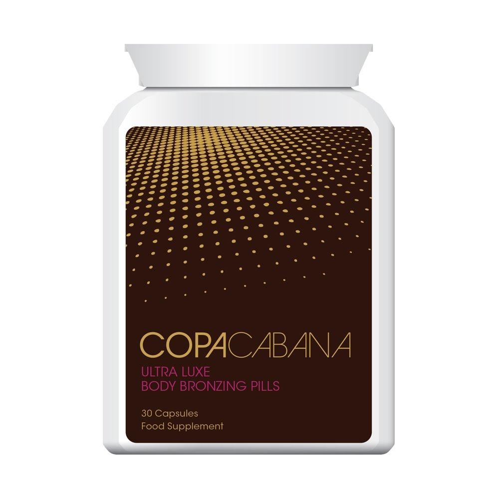 Copacabana Ultra Luxe Body Bronzing Pills TABLETS DEEP DARK BROWN GOLDEN TAN GUARANTEED