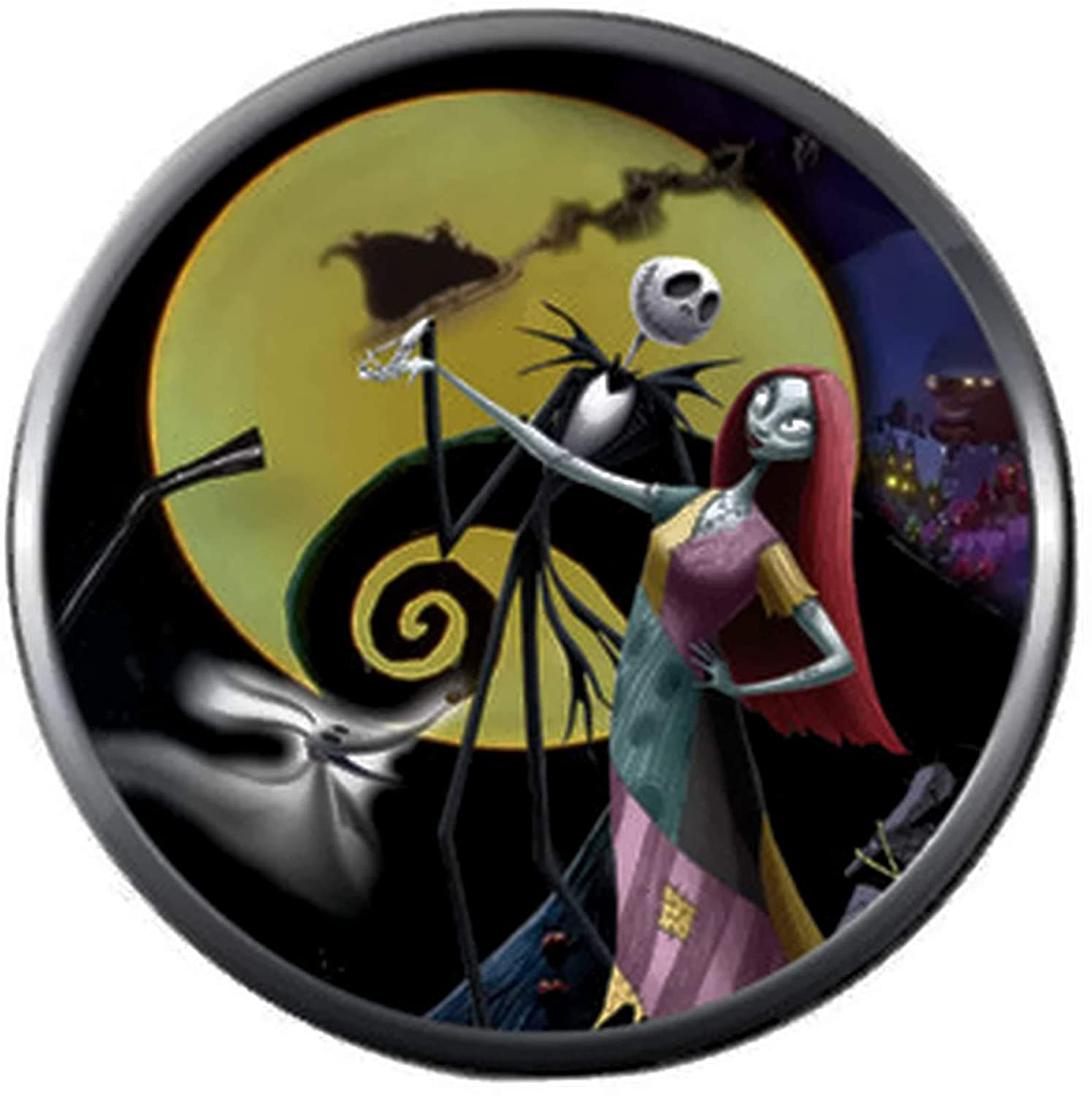 Amazon.com: Jack con Sally Moon espiral Hill Halloween ...