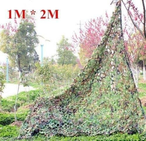 Woodland Camouflage Netting Camping Military