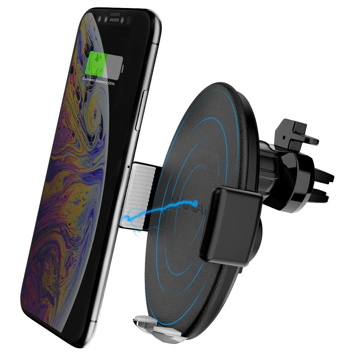 MTB Fahrrad Bike Lenker Handy Halterung abnehmbar für iPhone XR XS Samsung S10