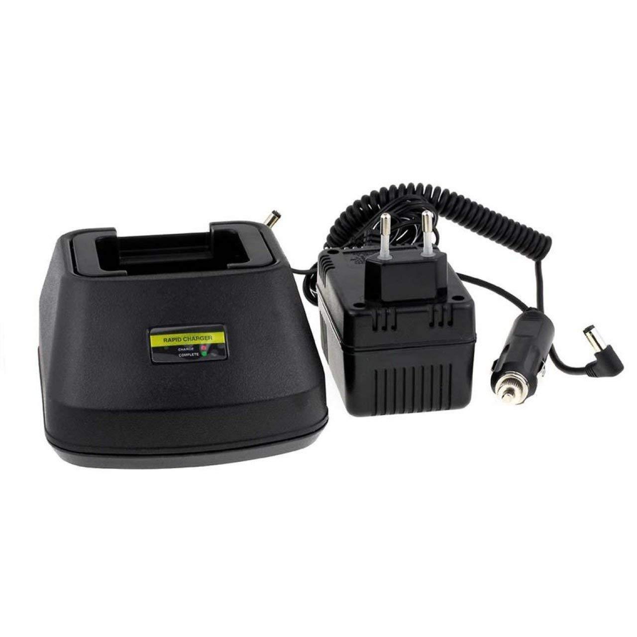 Powery Chargeur pour emetteur-récepteur Motorola CP040 [ Chargeurs (caméscope, PDA, Talkie-walkie .) ]