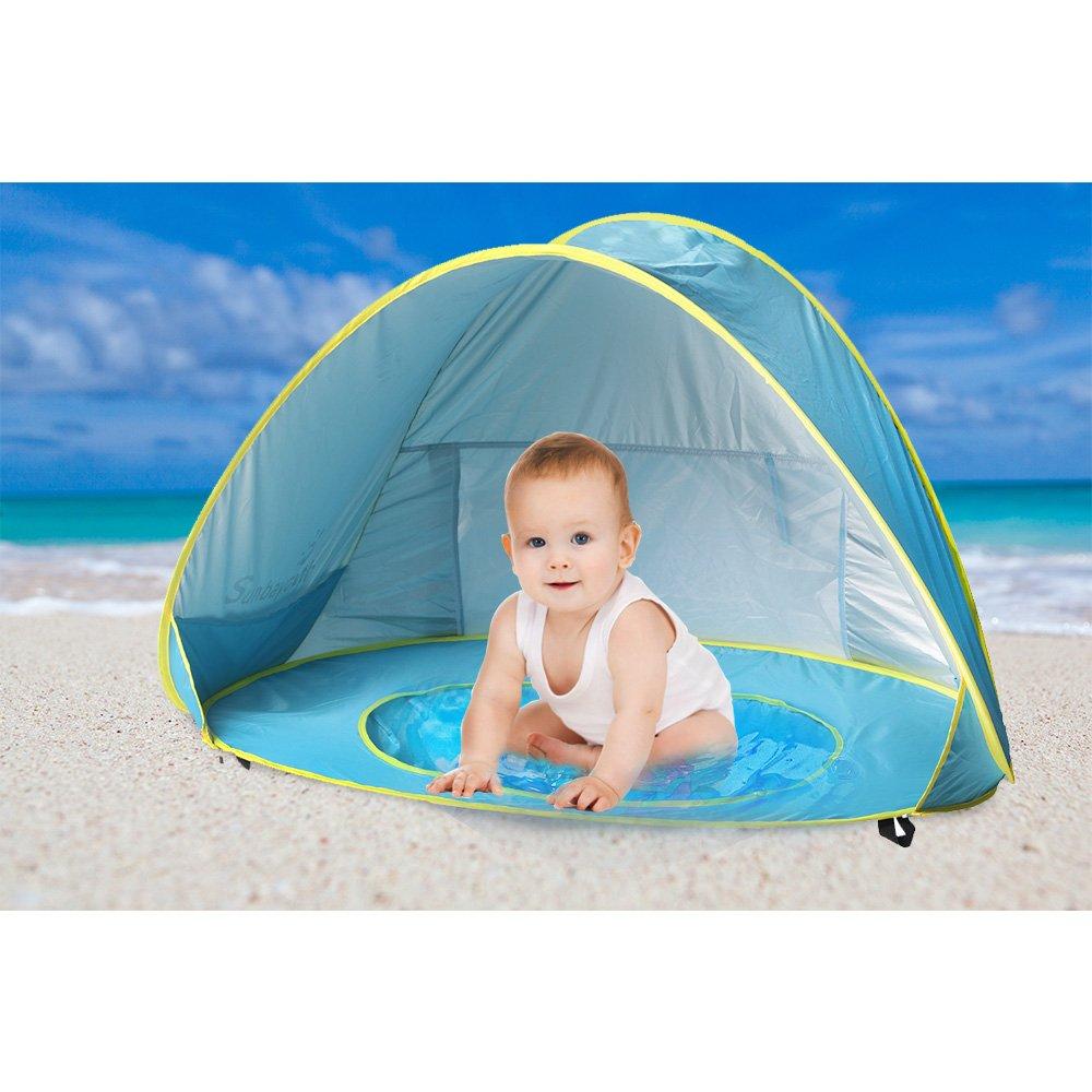 Baby Beach Shade Pool Sunba Youth Pop Up Tent Uv