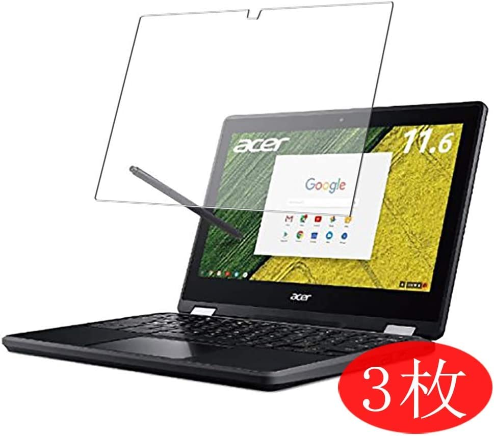 """【3 Pack】 Synvy Screen Protector for Acer Chromebook Spin 11 R751T-N14N 11.6"""" TPU Flexible HD Film Protective Protectors [Not Tempered Glass] New Version"""