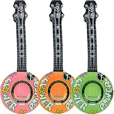 1 x hinchable * Banjo * - 100 cm de largo - como decoración para ...