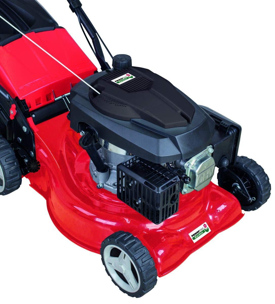 Powertec Benzin-Rasenm/äher mit Radantrieb SPLM42