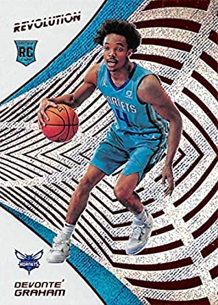 6e12bfa7078d 2018-19 Panini Revolution  140 Devonte  Graham Rookie RC Rookie Charlotte  Hornets NBA