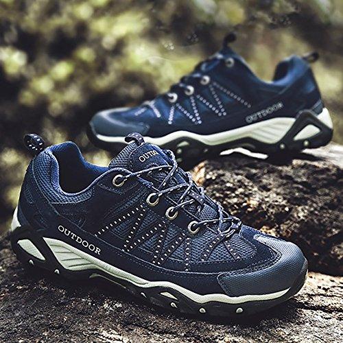 Scarpe Odema Blu Trail Running Running basse scuro Sneakers da uomo Trail Rn1SnUYq