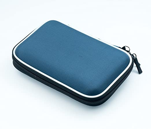 """1360 opinioni per QUMOX Custodia per Hard Disk portatile 2.5"""" con doppia cerniera, colore: Blu"""