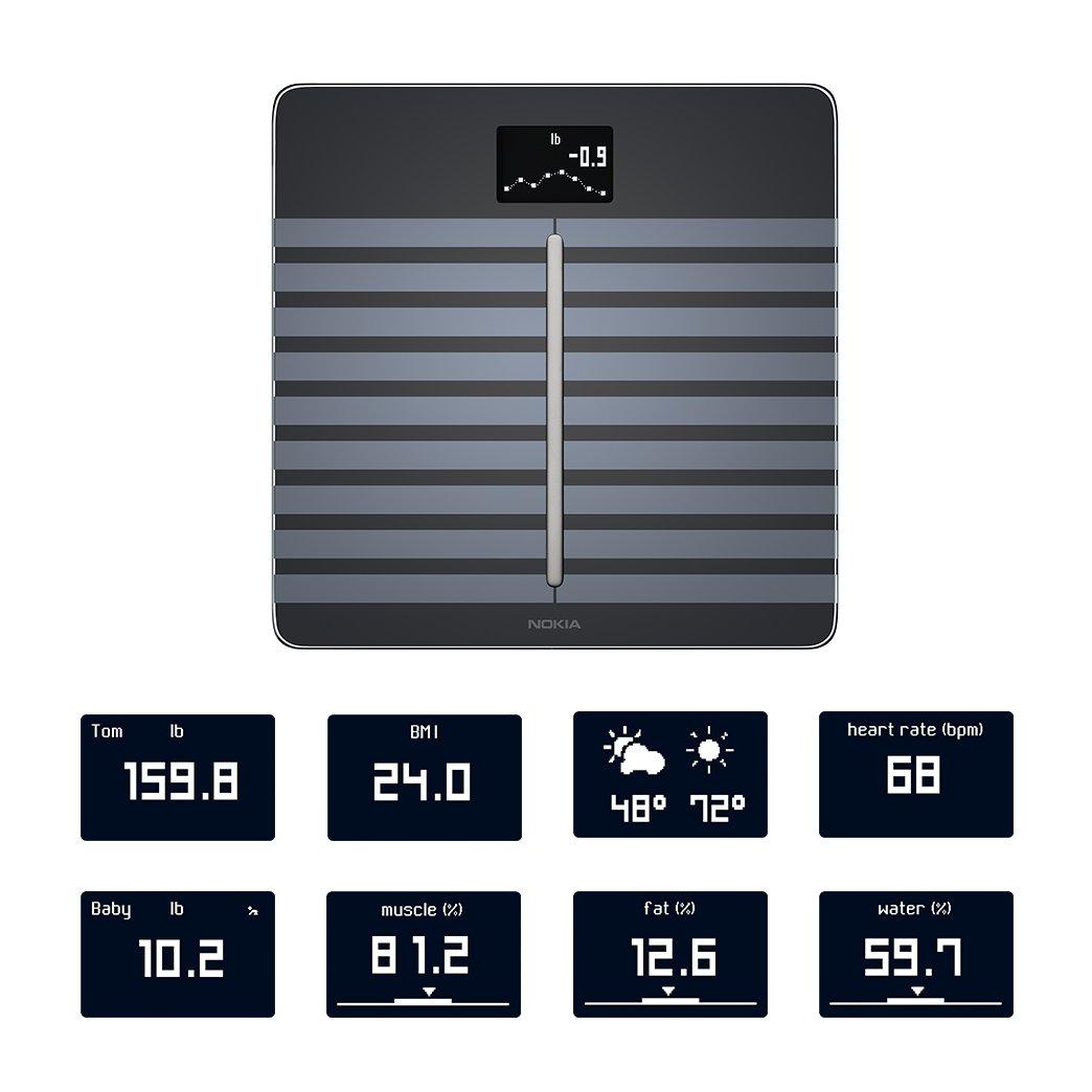 Nokia Body Cardio – Heart Health & Body Composition Wi-Fi Scale, Black by Nokia health (Image #4)