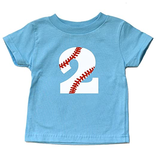 Image Unavailable Not Available For Color Second Birthday Baseball Shirt