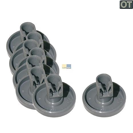 AEG 50286965004 - Cestas de ruedas para lavavajillas (8 unidades)