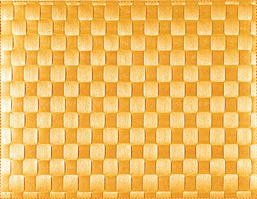 Saleen 01010102101 Placemats, Dishwasher Safe, Heat Resistant, Food Safe, Water Resistant-Yellow (Pack of 12) by Saleen (Image #9)