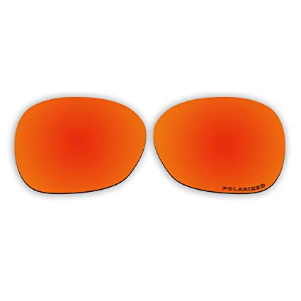 8956a7dcac1 Image Unavailable. Image not available for. Color  Polarized Replacement  Sunglasses Lenses for Oakley Pulse OO9198 with UV Protection (Fire Red  Mirror)