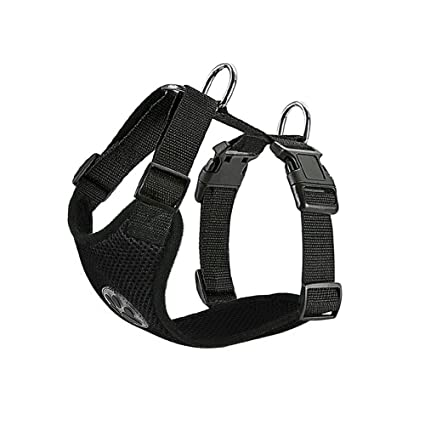 Pet Vest Harness with Safety Seat Belt for Trip and Daily Use Adjustable Elastic Strap and Multifunction Breathable Fabric Vest in Vehicle for Dogs SlowTon Dog Car Harness Seatbelt Set